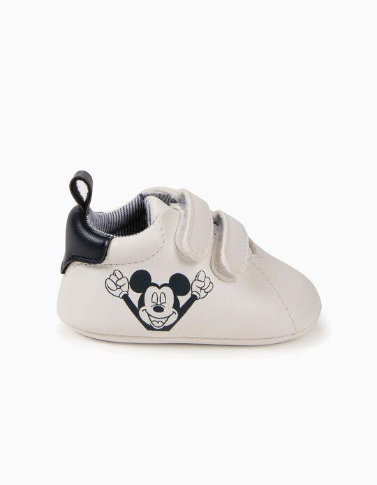 Sapatilhas para Recém-Nascido 'Mickey', Branco