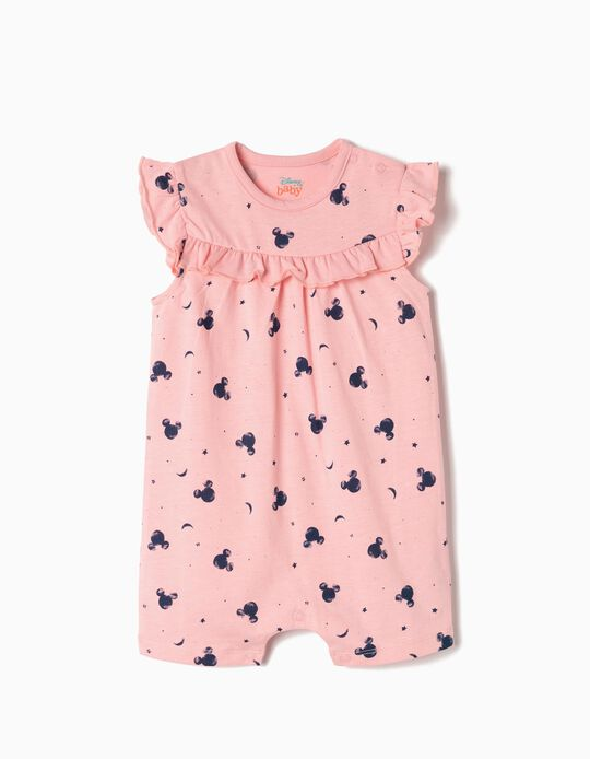 All-in-One for Baby Girls 'Mickey', Pink