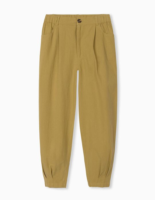 Trousers with Elasticated Waist, for Women