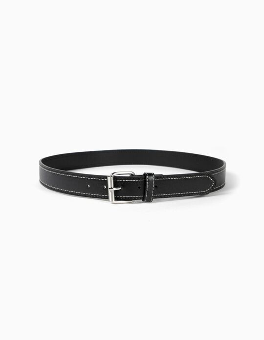 Belt with Contrasting Seam