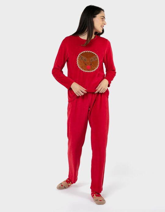 Pijama de Veludo Natal