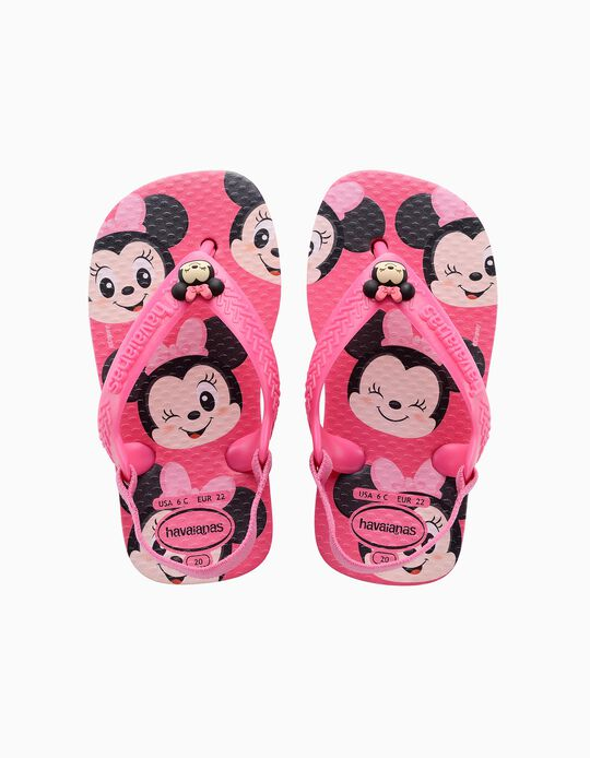 Havaianas 'Minnie' for Babies, Pink