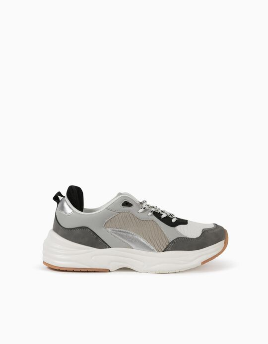 Chunky Trainers in Mesh, for Women