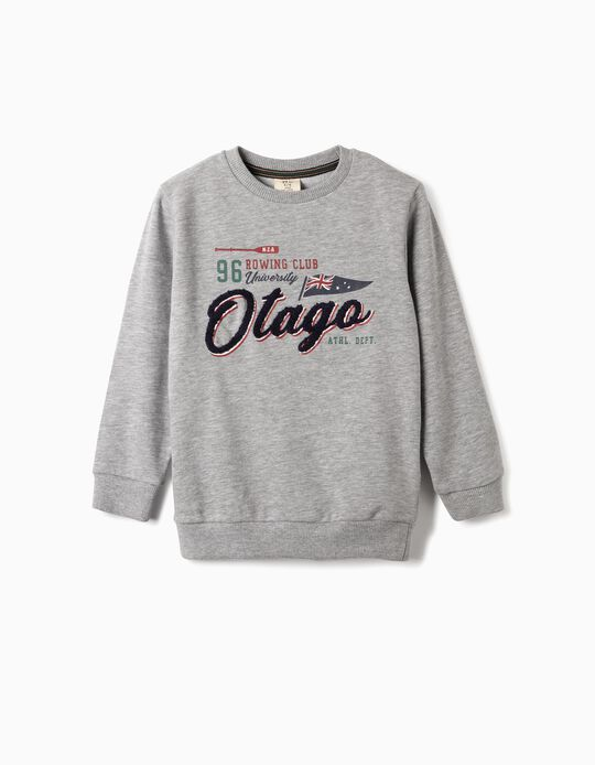 Sweatshirt for Boys 'Otago', Grey