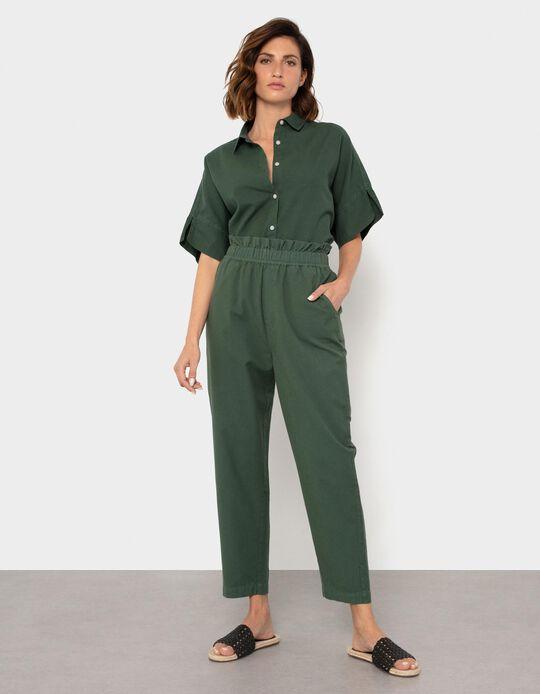 Cotton & Linen Trousers, for Women