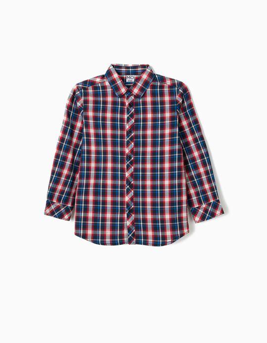 Camisa em xadrez