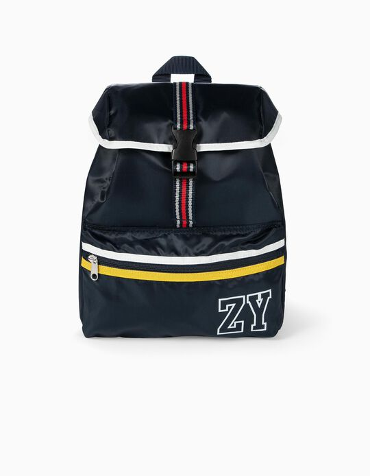 Sports Backpack for Boys 'ZY', Dark Blue