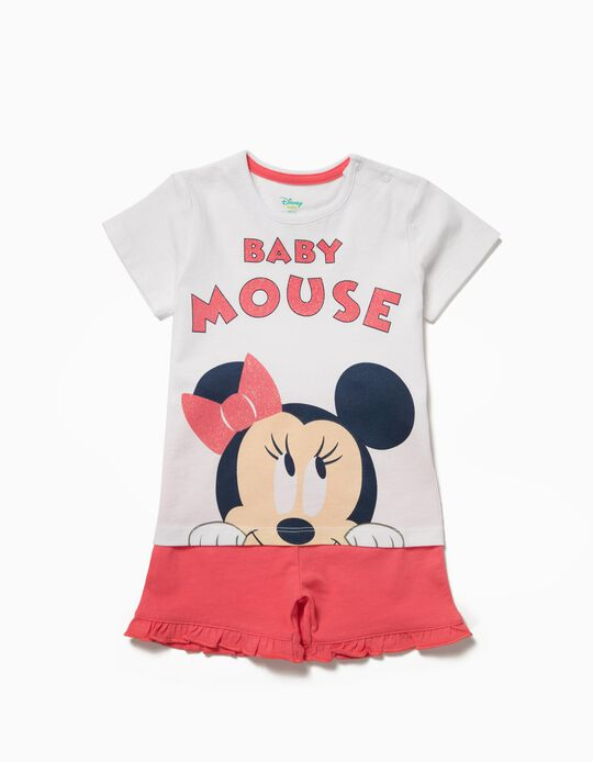Pijama Minnie Baby Mouse