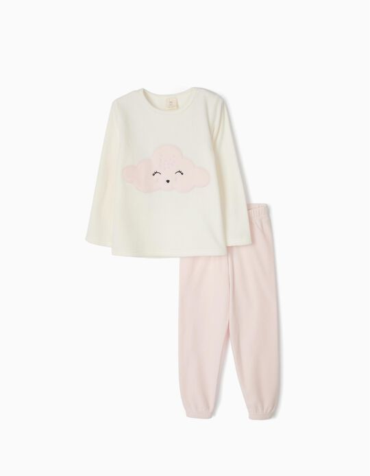Polar fleece pyjamas Cloud