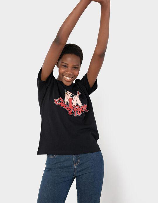 Betty Boop T-shirt, Women, Black