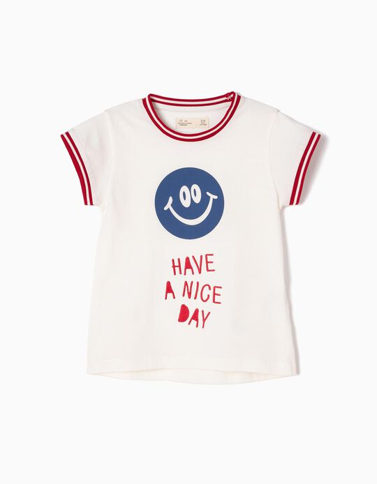 T-shirt Estampada Nice Day