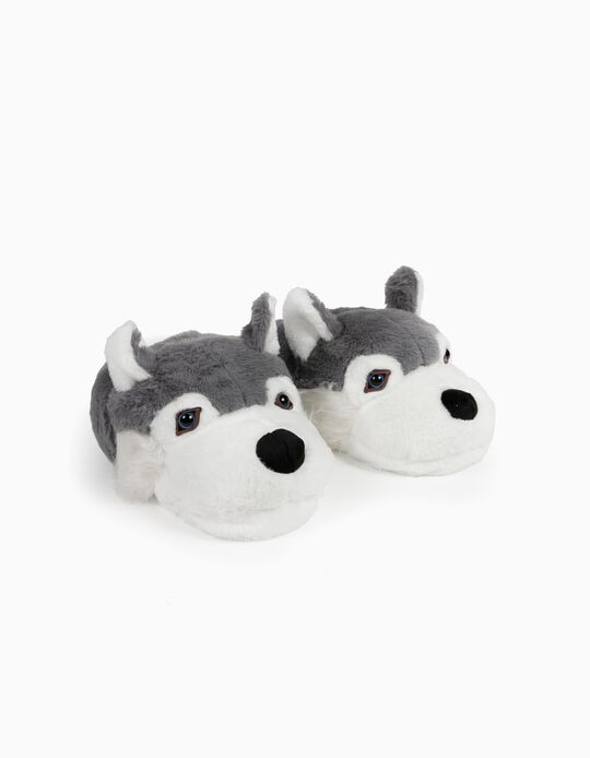 Slippers, Wolf