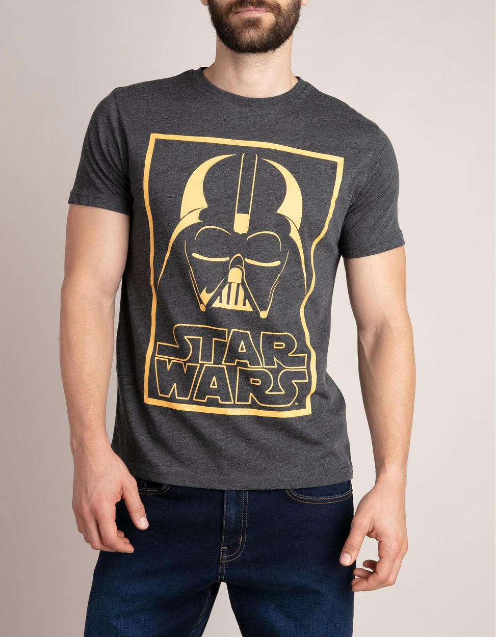 T-shirt acinzentada Star Wars