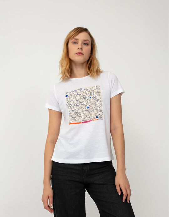 Support T-shirt, Women, White