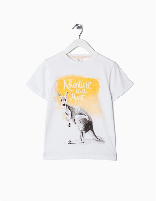 T-shirt canguru