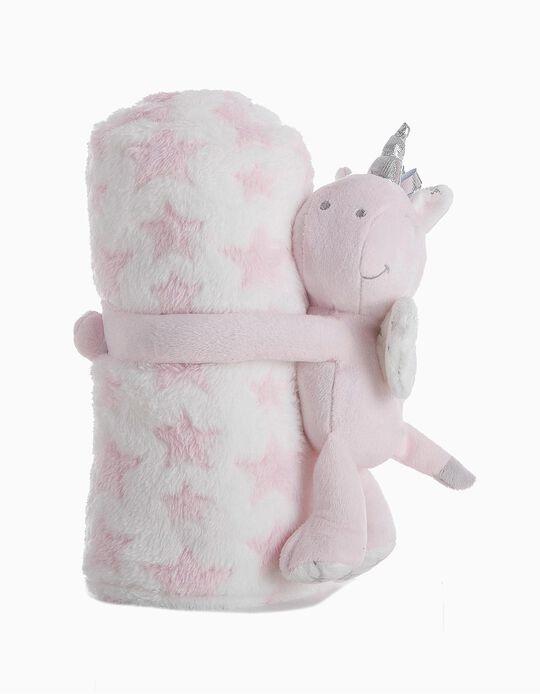 Conjunto Manta E Peluche Unicorn Sweet Little Kids