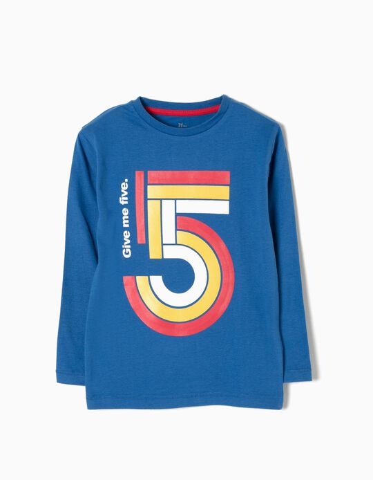 T-shirt Manga Comprida 5