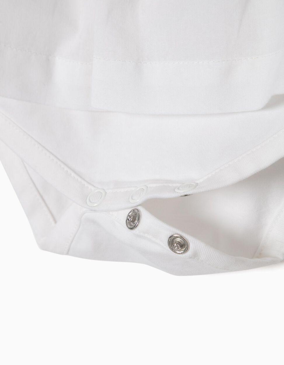 Blusa com Body Folhos