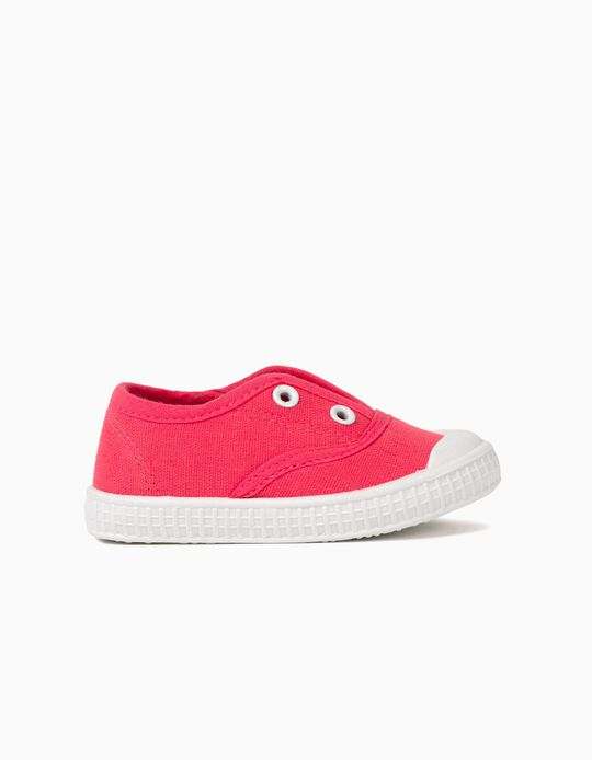 Canvas Trainers, Baby Girls