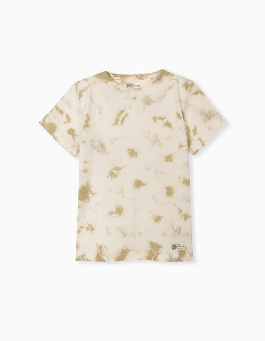T-shirt em Algodão Orgânico, Menino
