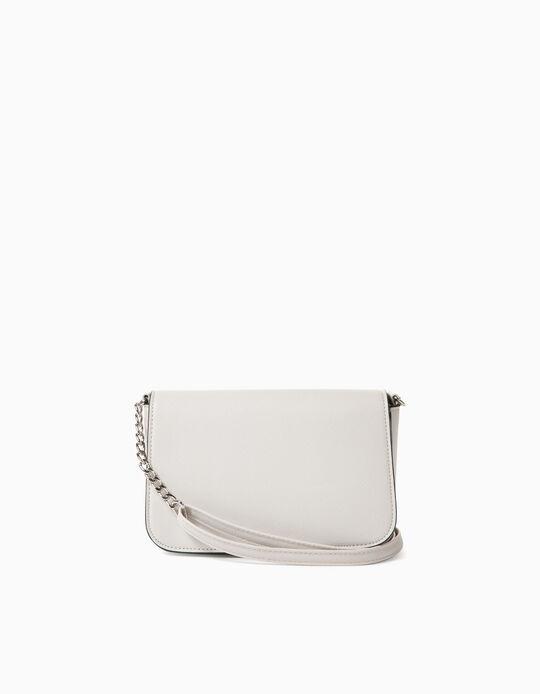 Small Crossbody Handbag, White