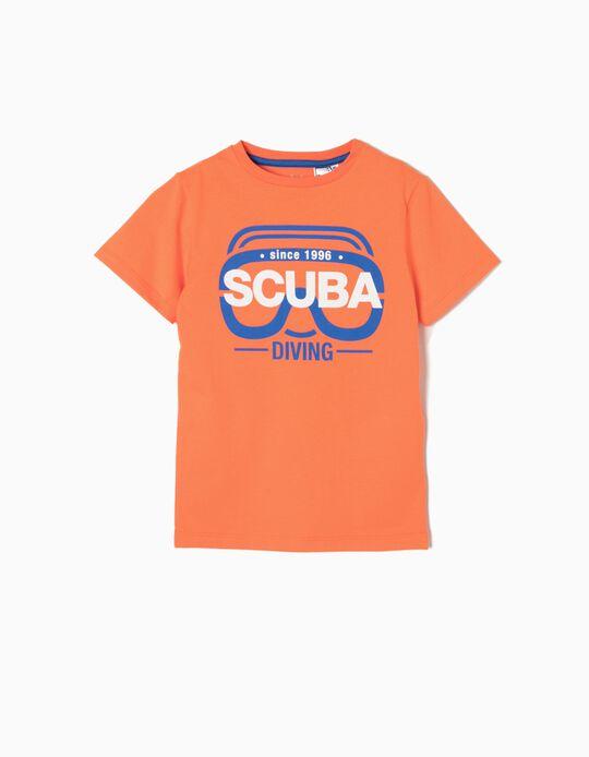 T-shirt Estampada Scuba Diving