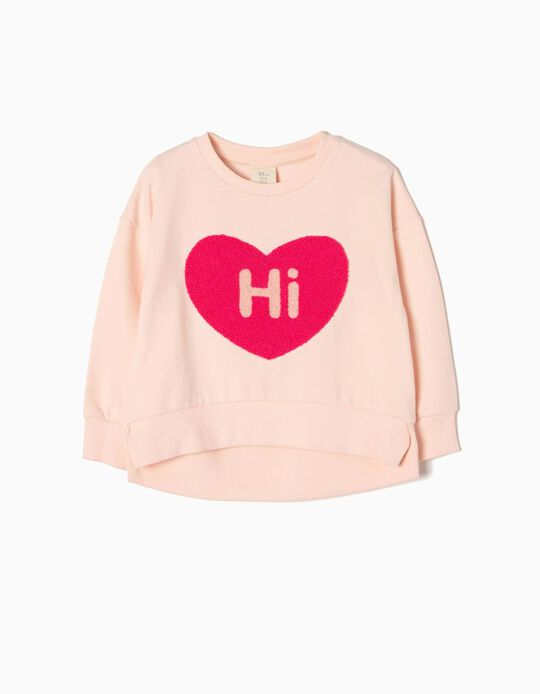 Sweatshirt Hi Heart
