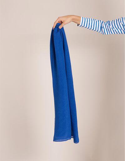 Écharpe Plissada Azul