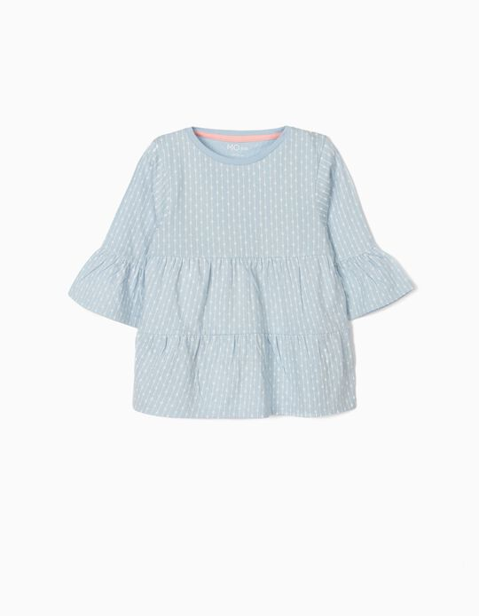 Ruffle-Effect Top, for Baby Girls