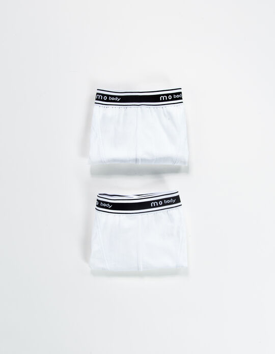 Pack of 2 Stretch Boxer Shorts