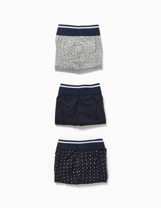 Pack 3 Boxers
