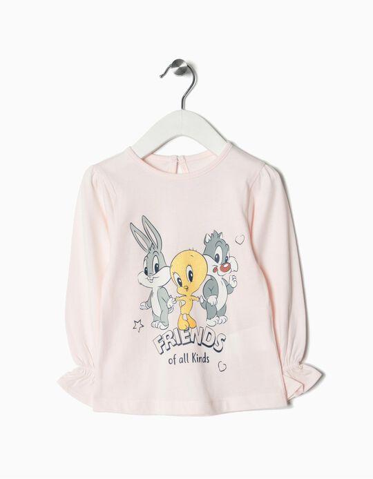 T-shirt Manga Comprida Looney Tunes