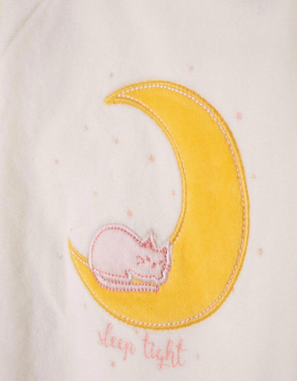 Babygrow de Veludo Cat & Moon