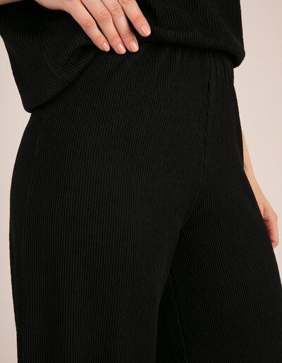 Calças Jersey Castanhas