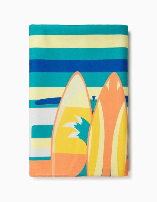 Toalha de praia pranchas