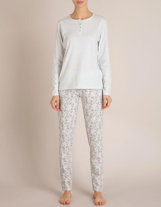 Calças Pijama Cinzentas