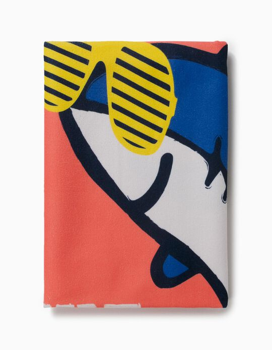 Beach Towel, Shark, for Boys