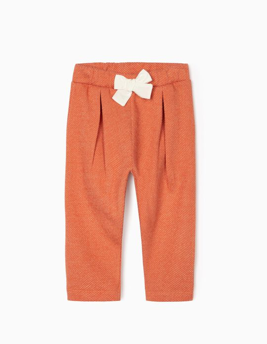 Trousers for Baby Girls, Orange