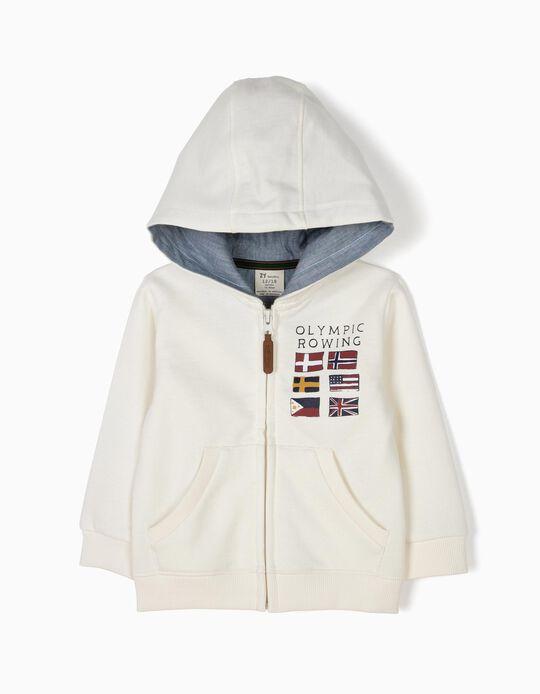 Olympic Rowing fleece jacket with hood