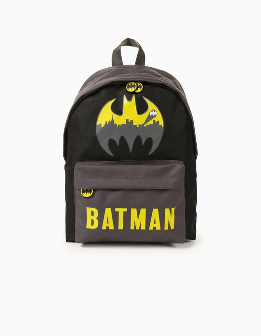 Backpack for Boys 'Batman', Black/Grey