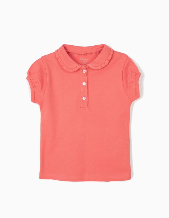 Polo Shirt for Baby Boys, Pink