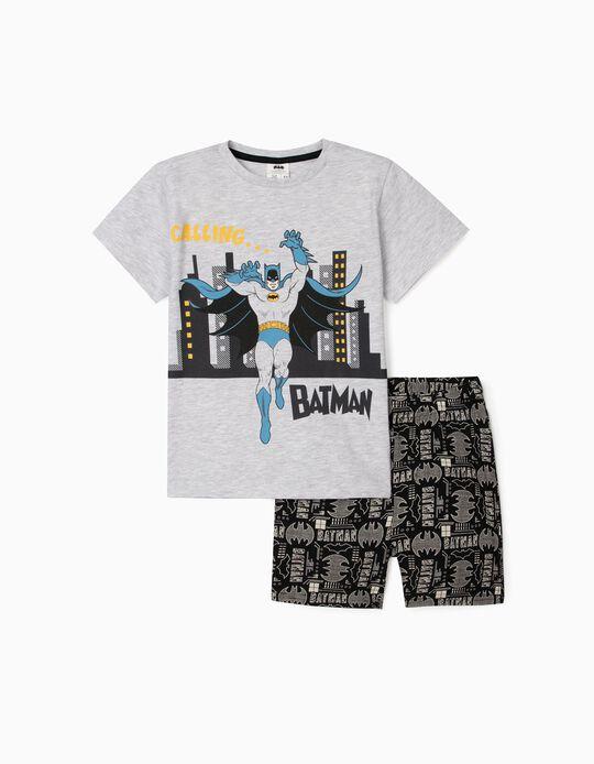 Pijama para Menino 'Batman', Cinza