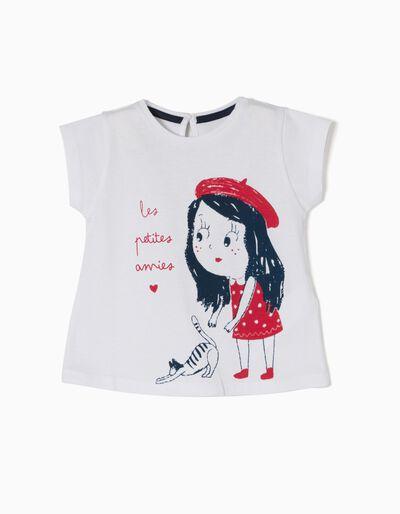 T-shirt Algodão Laço