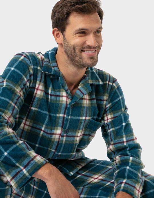 Conjunto de Pijama polar xadrez