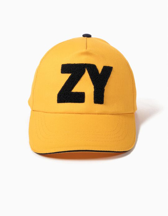 Boné ZY Amarelo