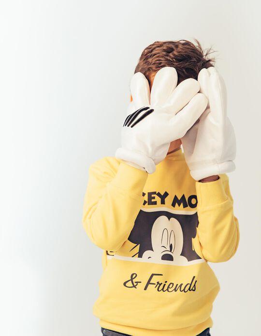 Fato de Treino para Menino 'Mickey & Friends', Amarelo e Cinza