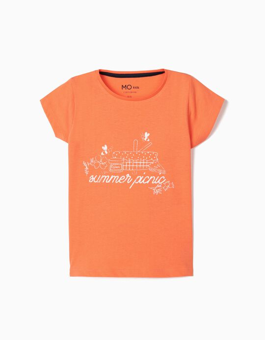 T-shirt para Menina, 'Summer Picnic'