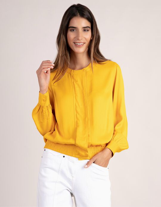 Blouse with Elastic
