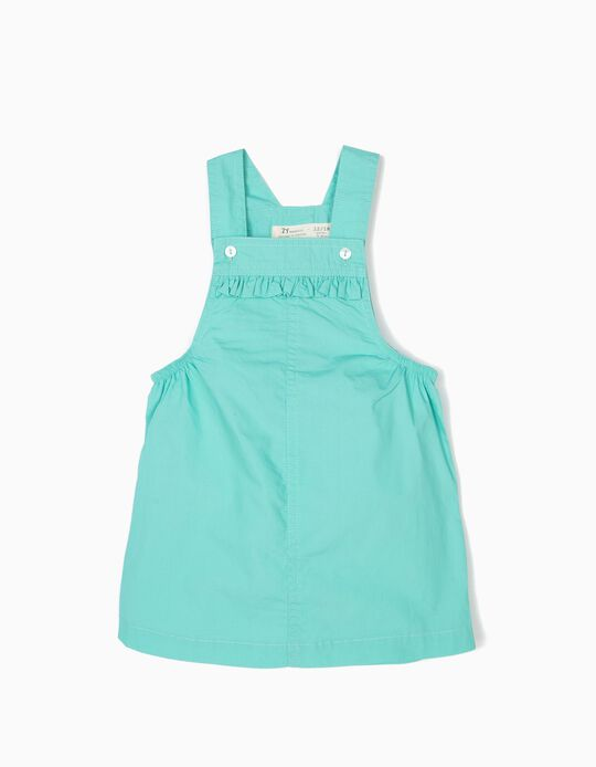 Pinafore Dress for Baby Girls, Blue