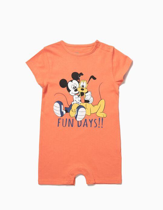 Babygrow Mickey e Pluto